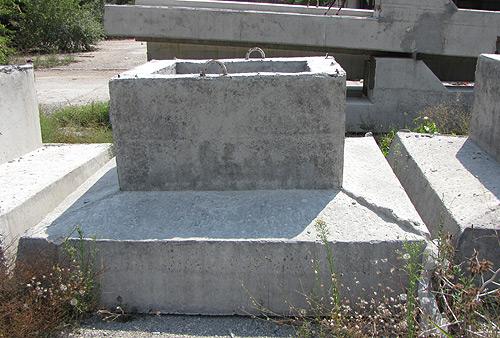 Foundations single prefabricated foundations for Prefab columns